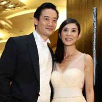 Charlie Young and Singaporean husband welcome twins