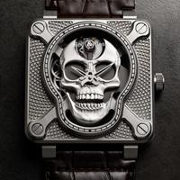 Bell & Ross launches new BR01 Laughing Skull
