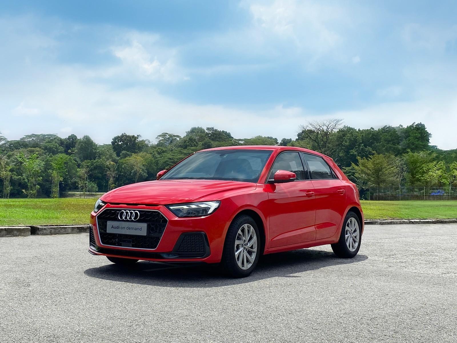 Audi A1 Sportback Advanced 1.0 TFSI S Tronic (For Rent)