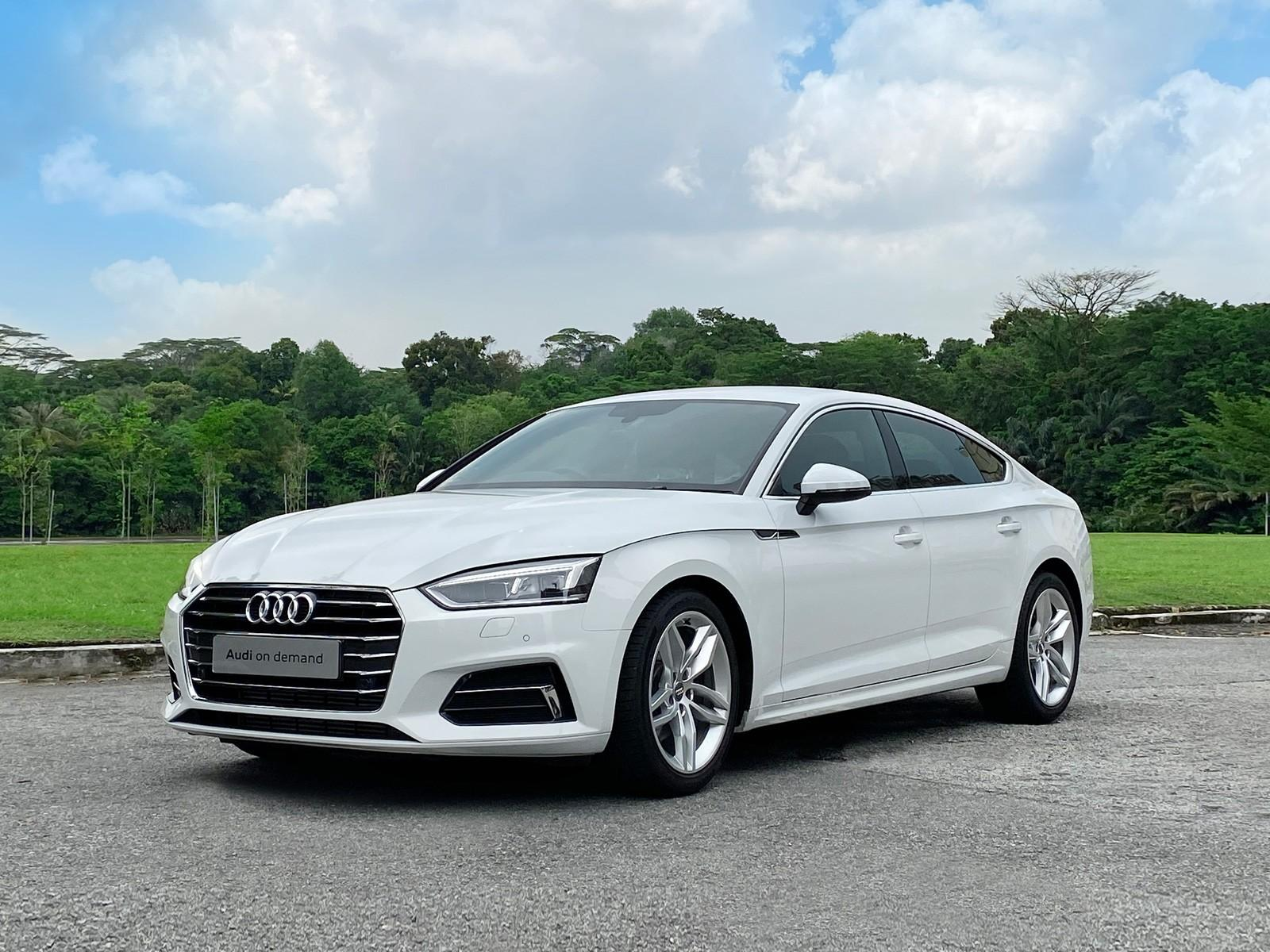 Audi A5 Sportback 2.0 TFSI S Tronic (For Rent)