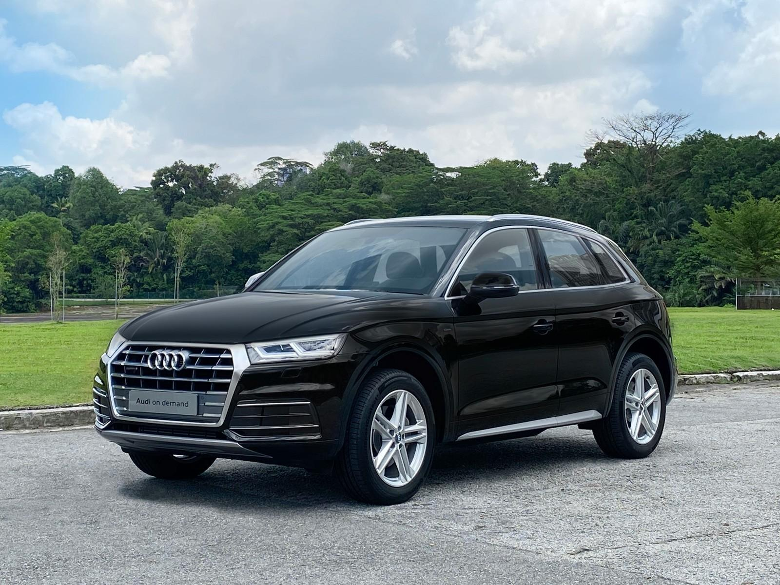 Audi Q5 Sport 2.0 TFSI Quattro S Tronic (For Rent)