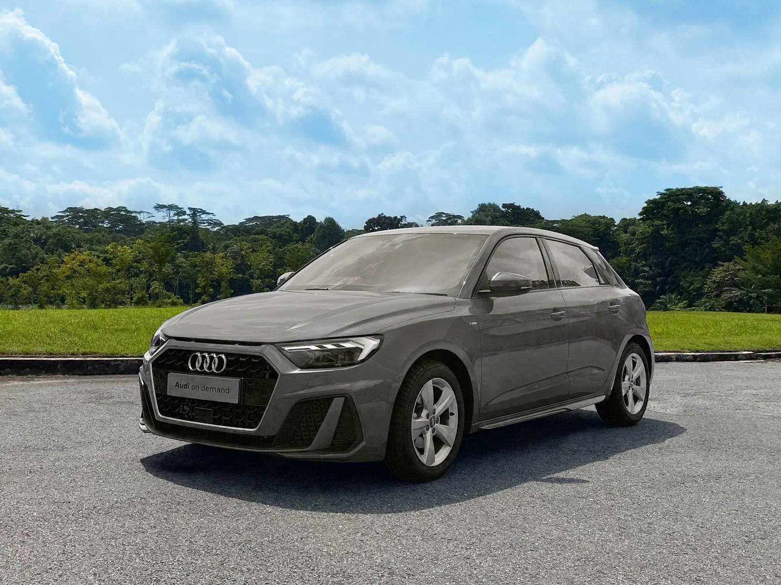 Audi A1 Sportback S Line 1.0 TFSI S Tronic (For Rent)