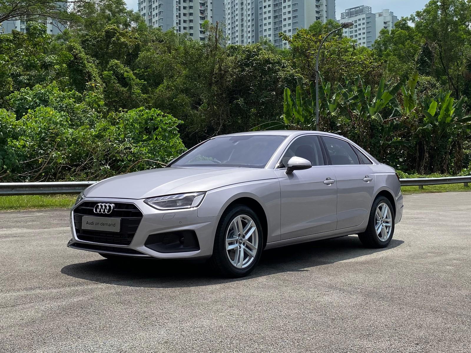 Audi A4 Sedan 2.0 TFSI (For Rent)