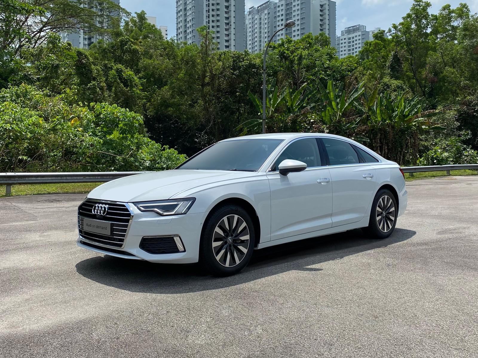 Audi A6 Sedan 2.0 TFSI S tronic (For Rent)