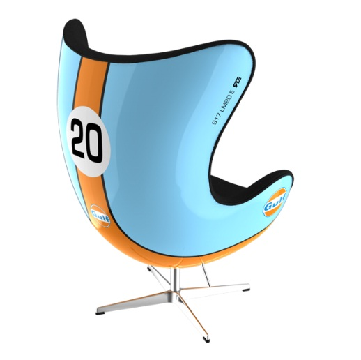 Attached Image: porsche_917_gulf_livery_retro_chair.jpg