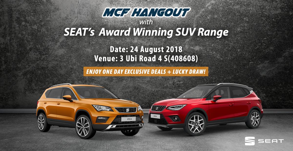 Aug MCF HangOut With SEAT Award Winning SUV Meetups - Fun car show award categories