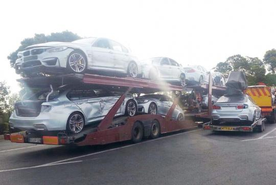 Bmw Sacrifices Some F80 M3s For Mission Impossible 5 Mycarforum Com