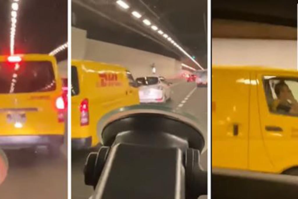 Man uploads video to shame DHL delivery driver, gets online backlash instead