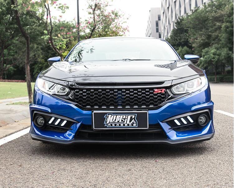Honda-Civic-I-in-araba-n-Tampon-Mesh-Grille-Izgaralar-10th-2016-2017-H-zl-EMS.jpg