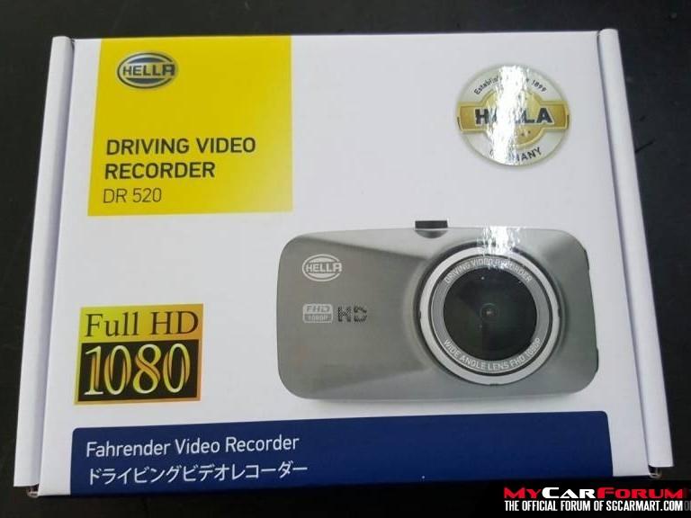 HELLA DR520 Full HD 1080P 2.7