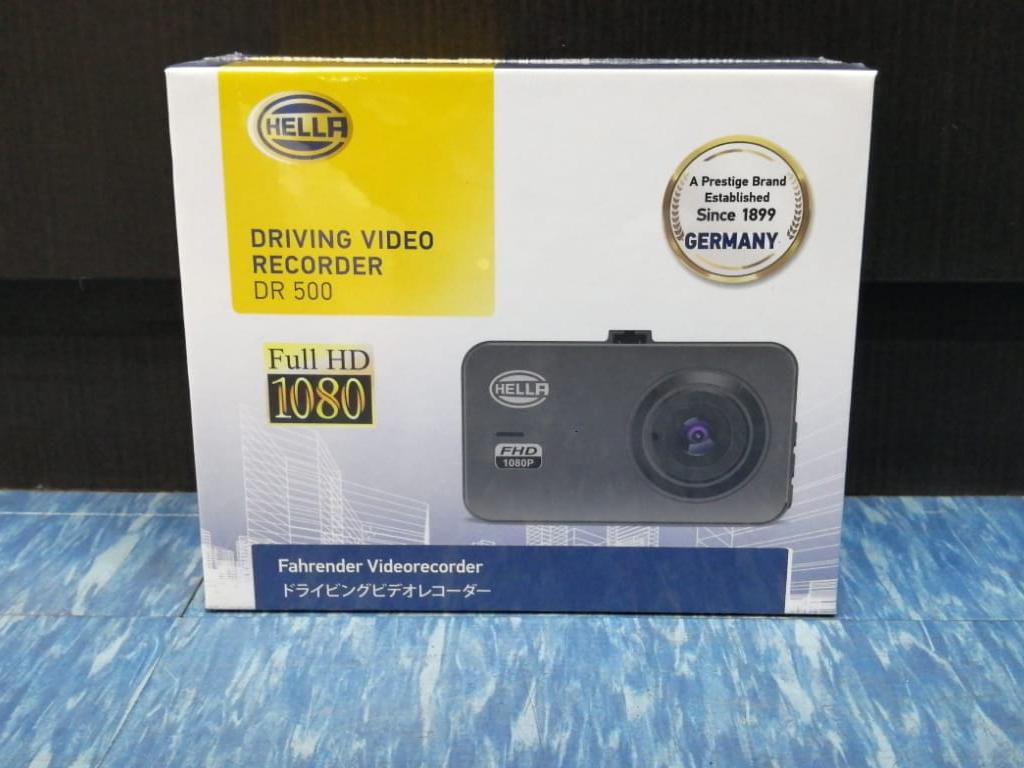 HELLA DR500 1-Channel Full HD 3