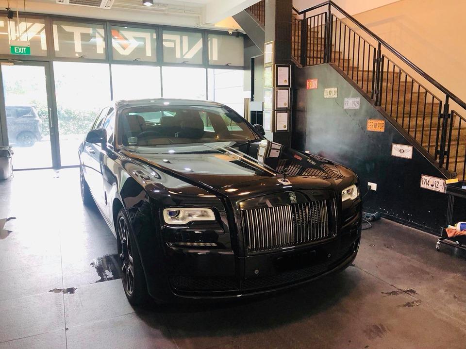 Infratint Solar Film Rolls Royce Luxury Premium Car Package
