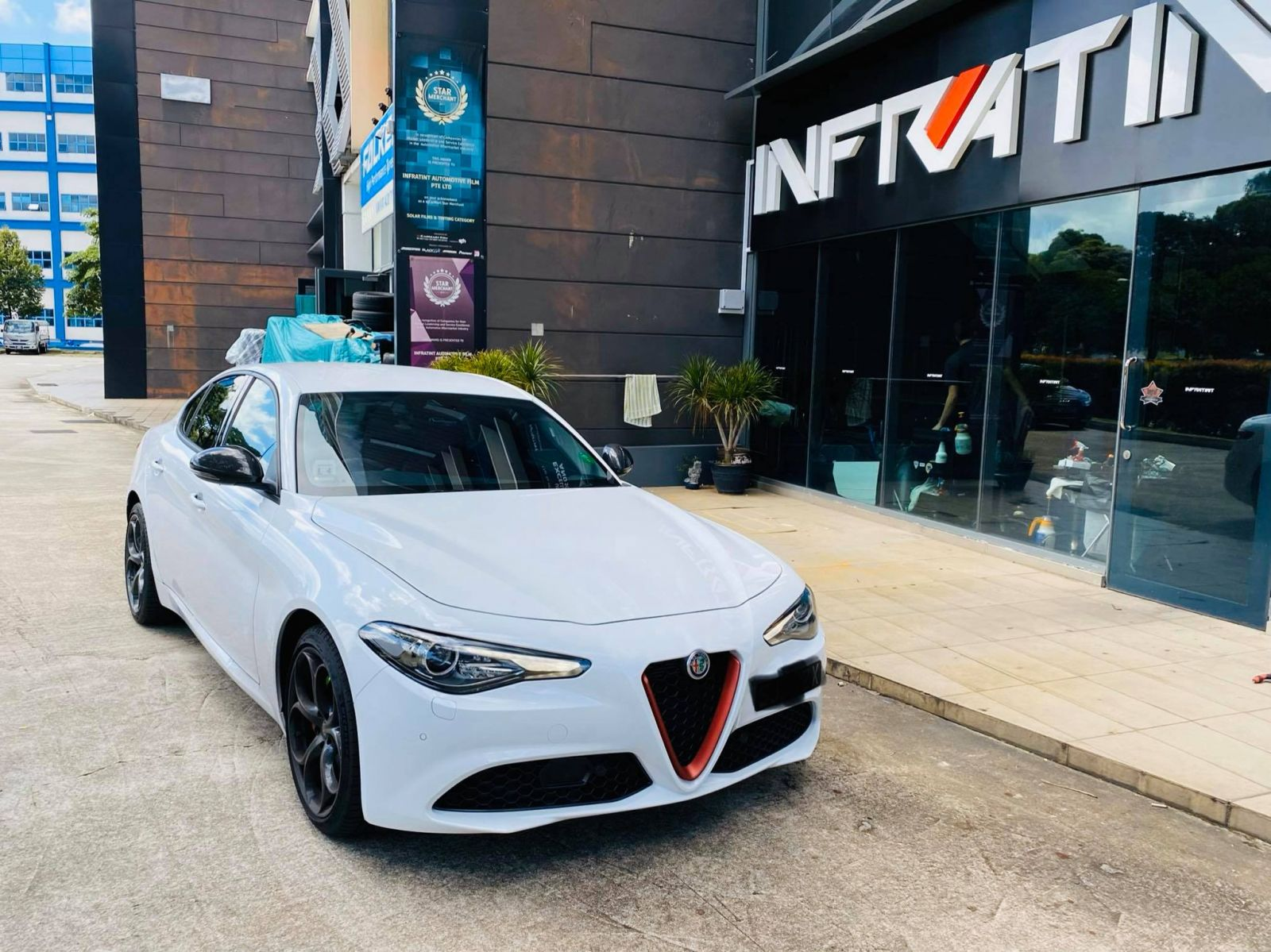 Infratint Solar Film Alfa Romeo Cars Package