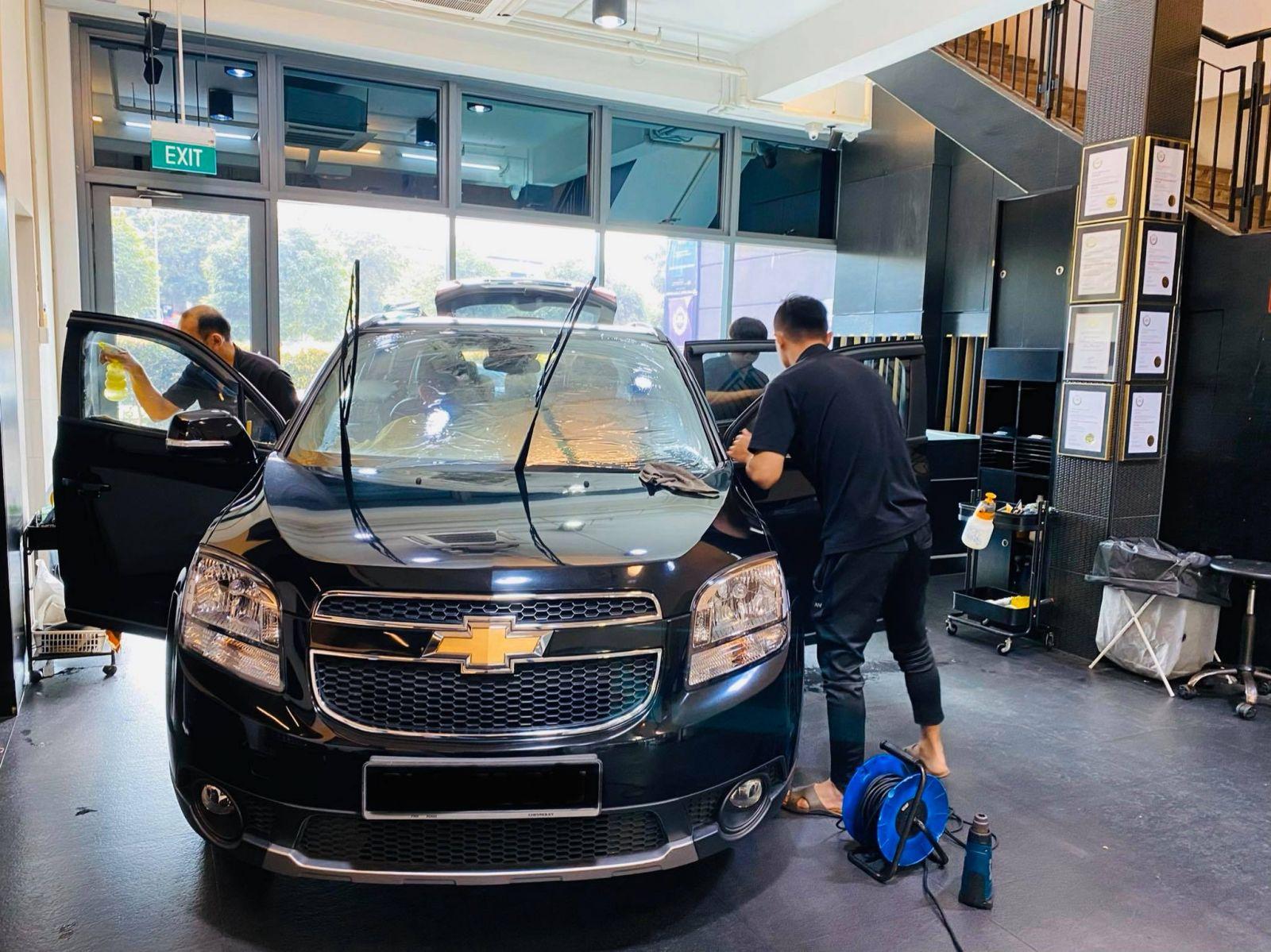 Infratint Solar Film Chevrolet Cars Package