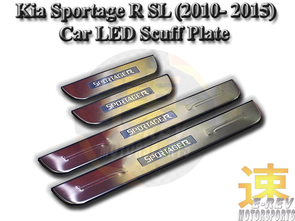 Kia Sportage R LED Scuff Plate