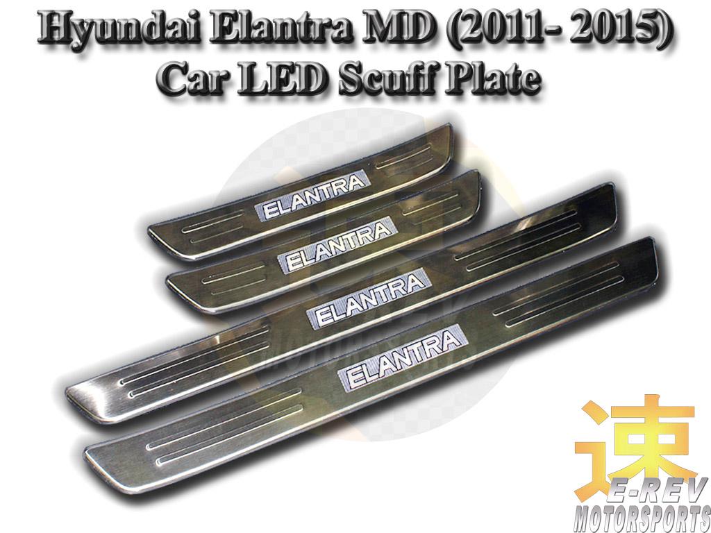 Hyundai Elantra MD 2011 - 2015 Scuff Plate