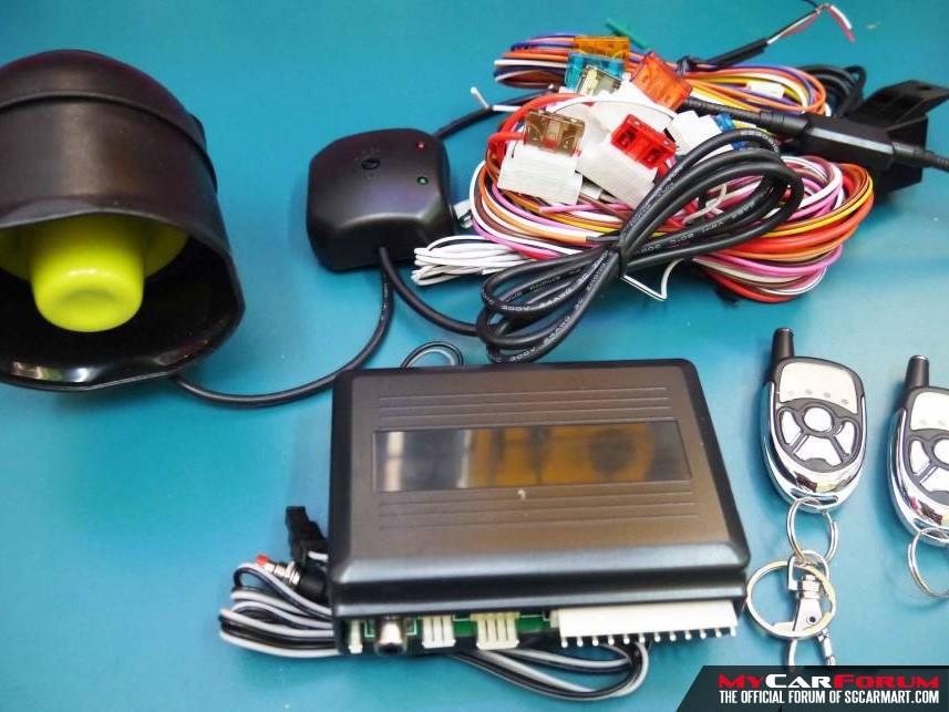 Chameleon V3/V9 Car Alarm Super Anti-Hijack Security System