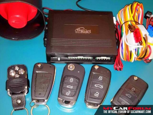 Mantiz Car Alarm Security System