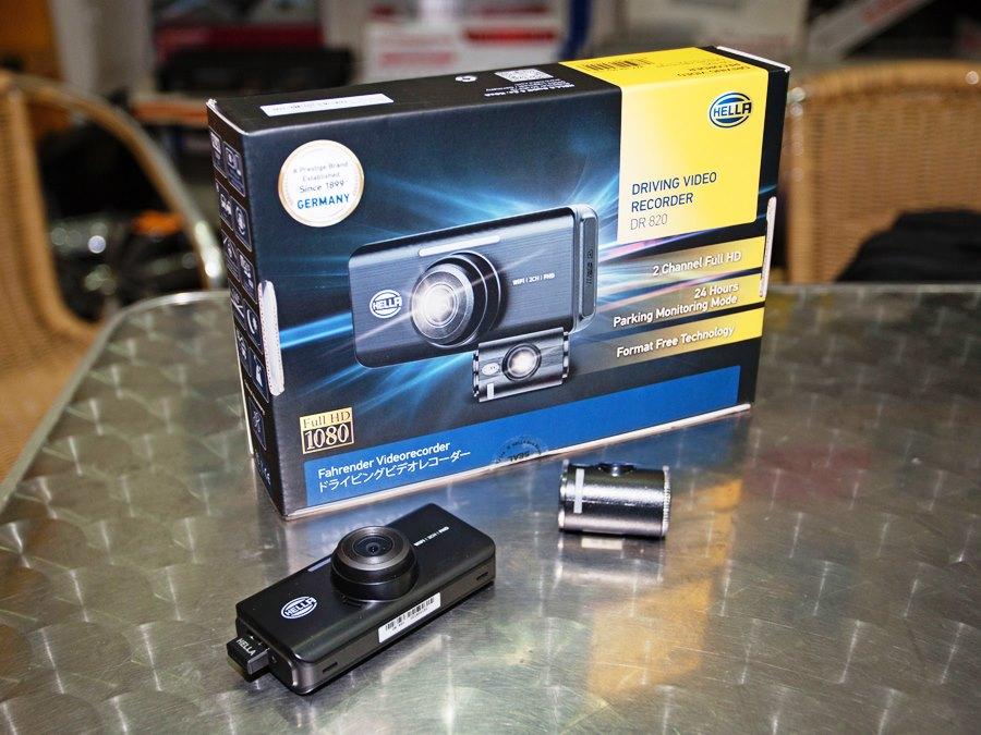 HELLA DR820 2-Channel FHD+FHD WiFi Car Camera