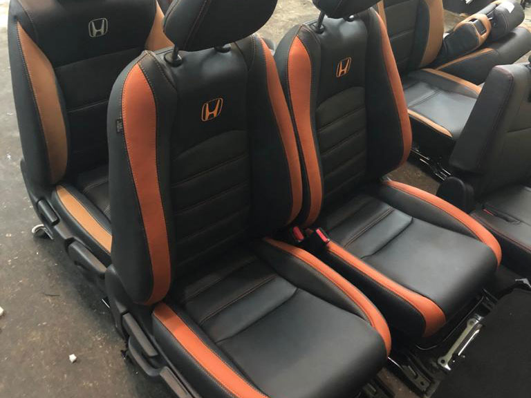 Honda Vezel 2018 - 2020 Car Seat Leather Wrap