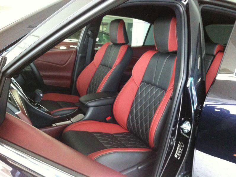 Toyota Harrier Car Interior and Seat Leather Wrap