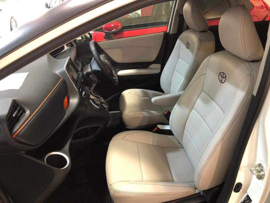 Toyota Sienta Car Interior and Seat Leather Wrap