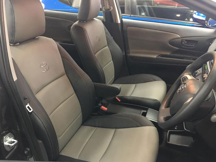 Toyota Wish Car Interior and Seat Leather Wrap