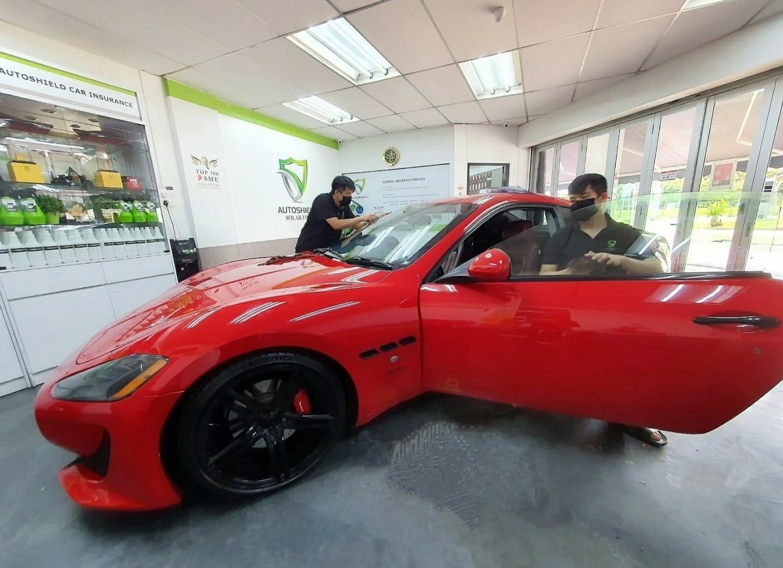 Maserati Autoshield Solar Film Package