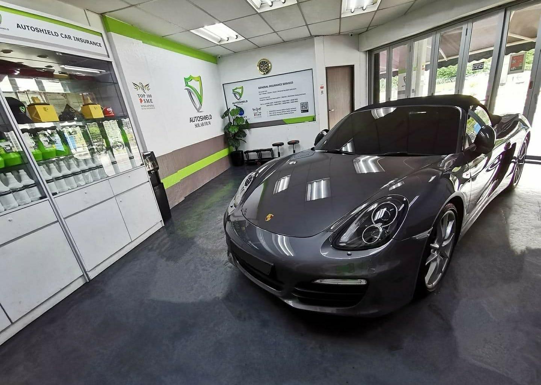 Porsche Boxster Autoshield Solar Film Package