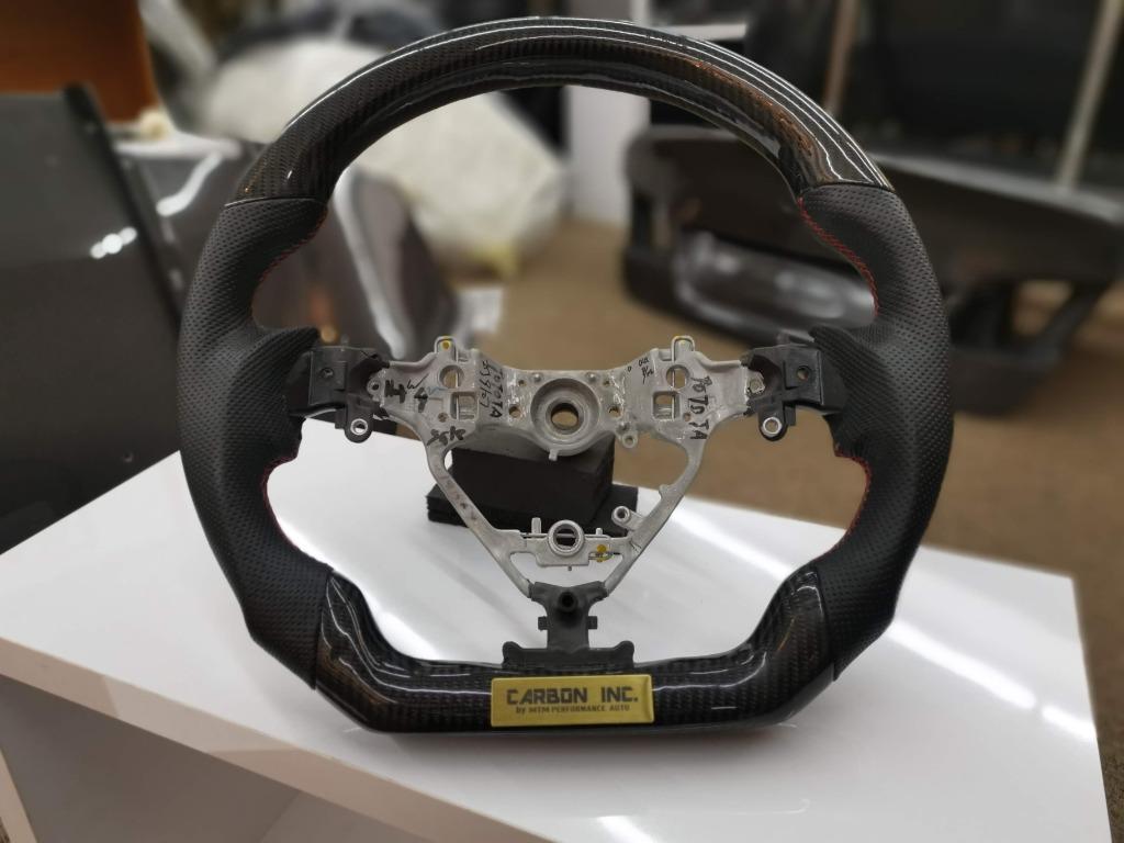 Toyota Alphard / Harrier Carbon Fiber Steering Wheel