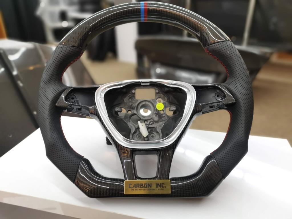 Volkswagen Golf MK7 Carbon Fiber Steering Wheel