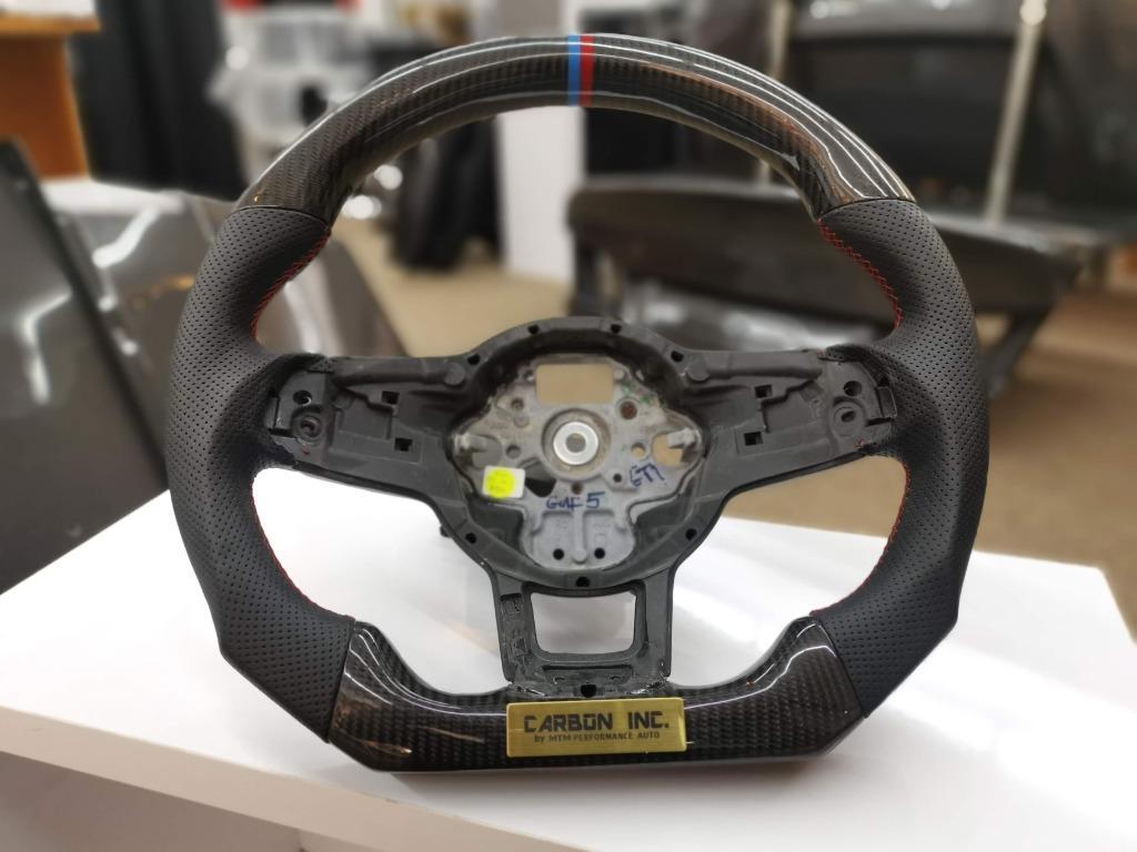 Volkswagen Golf GTI MK5 Carbon Fiber Steering Wheel
