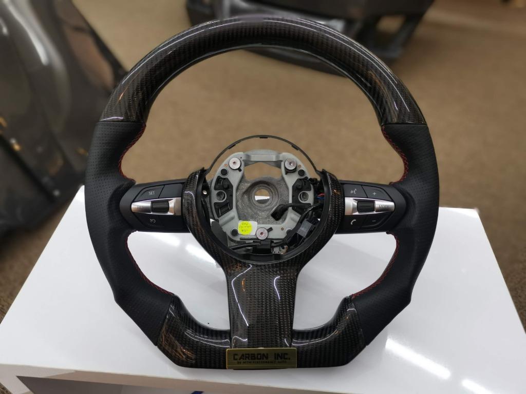 BMW F30 M-Sport Carbon Fiber Steering Wheel