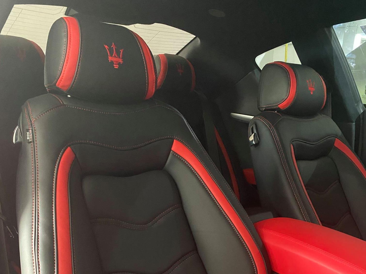 Maserati Leather Seat Upholstery