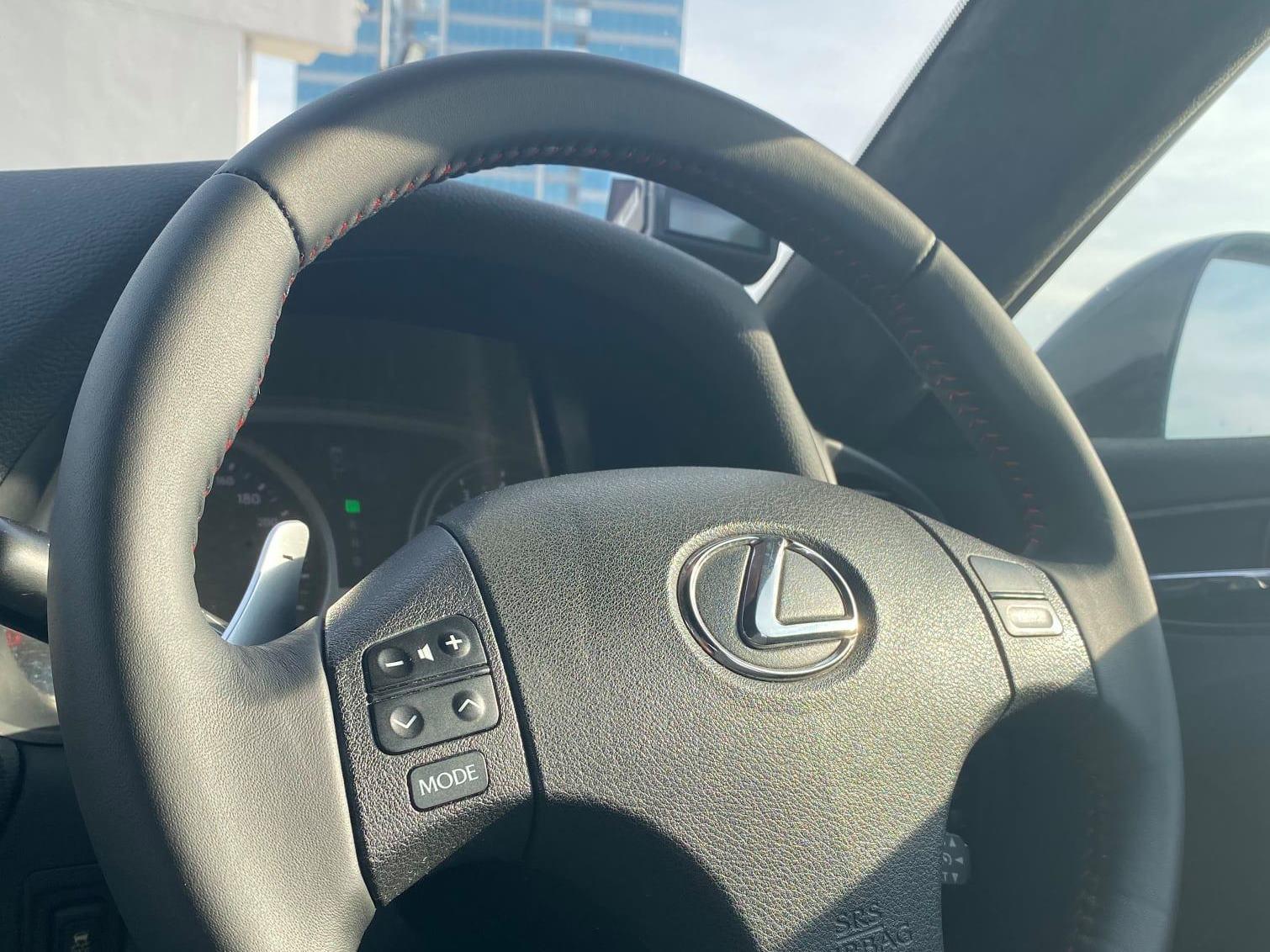 Steering Wheel Leather Rewrap Service