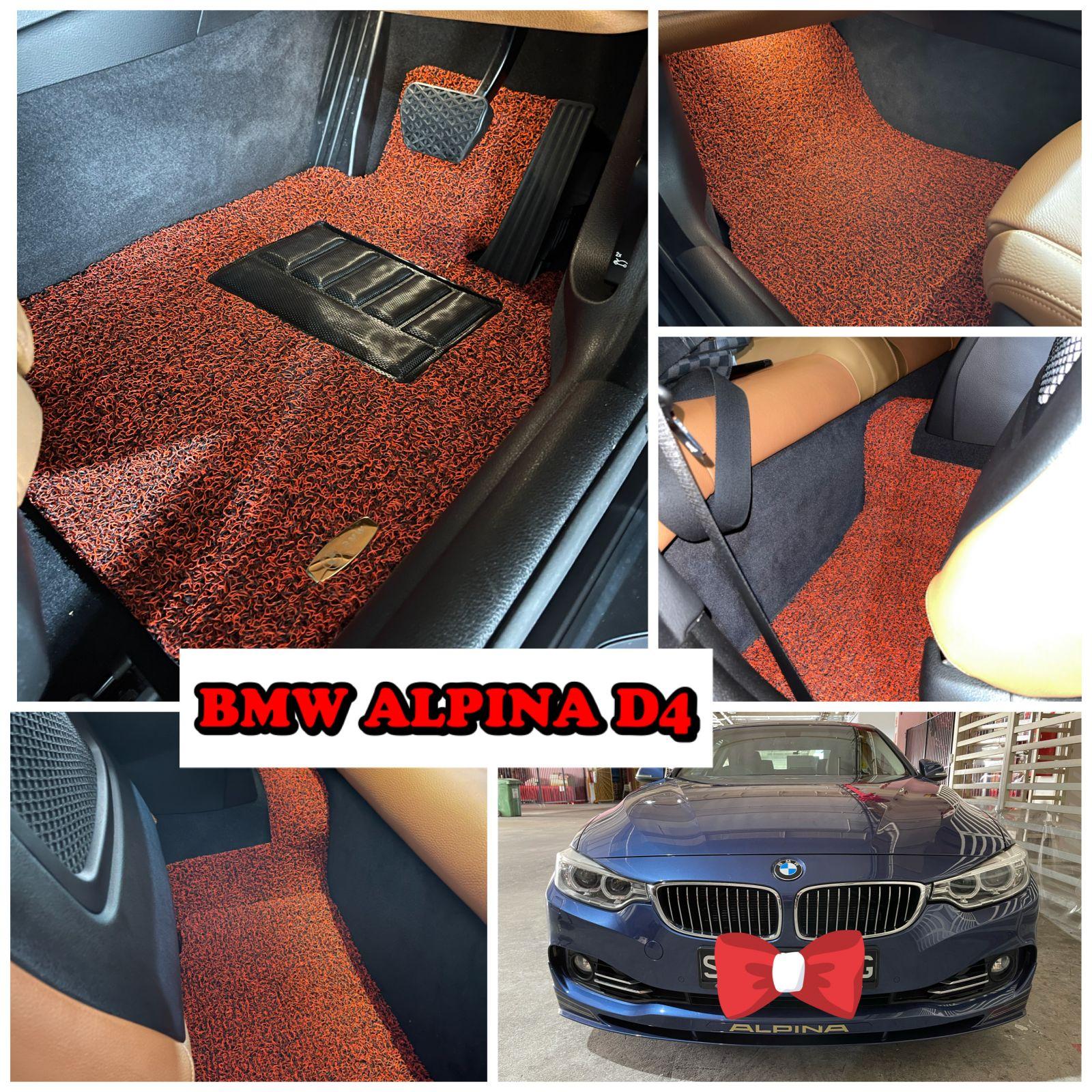 Customised BMW Alpina D4 Car Mat