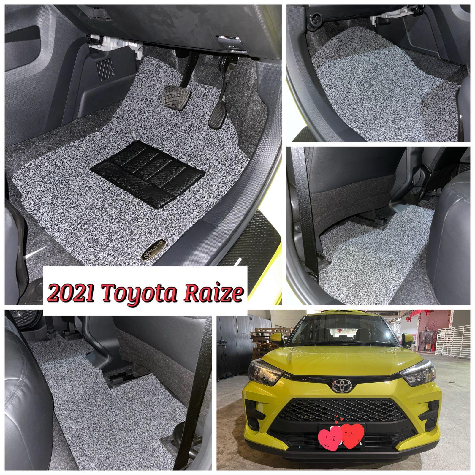 Customised 2021 Toyota Raize Car Mat