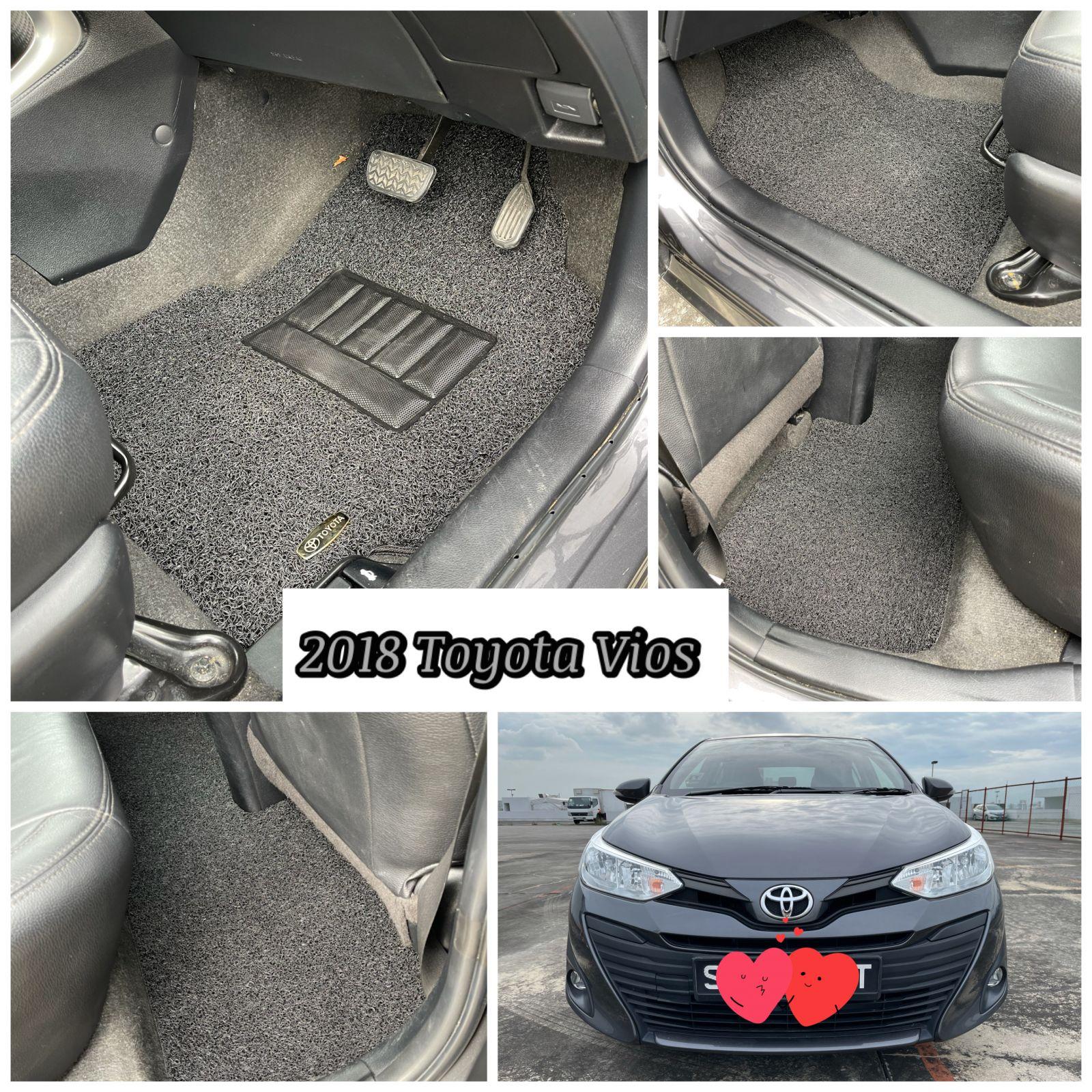 Customised 2018 Toyota Vios Car Mat