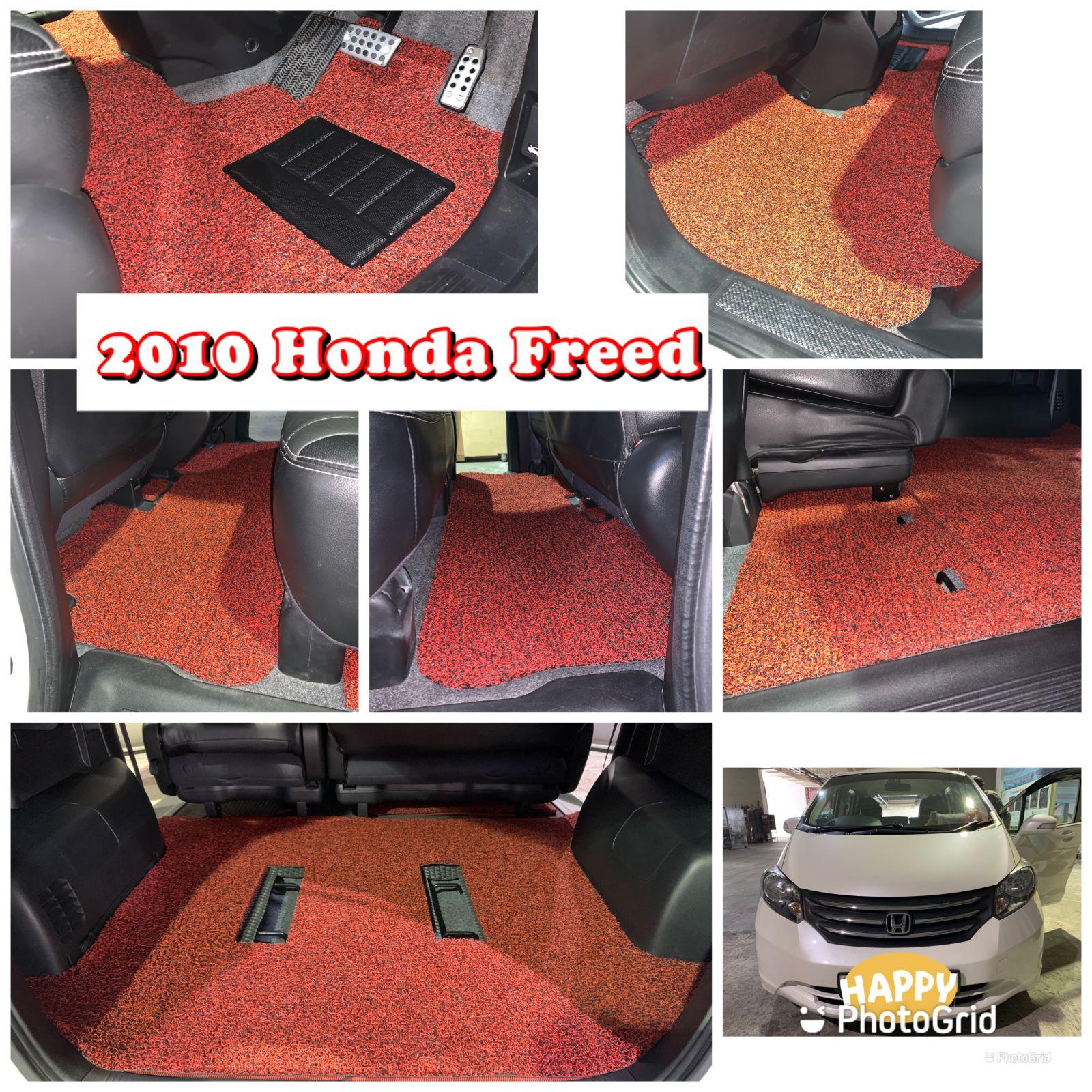 Customised 2010 Honda Freed Car Mat (With Boot Mat)
