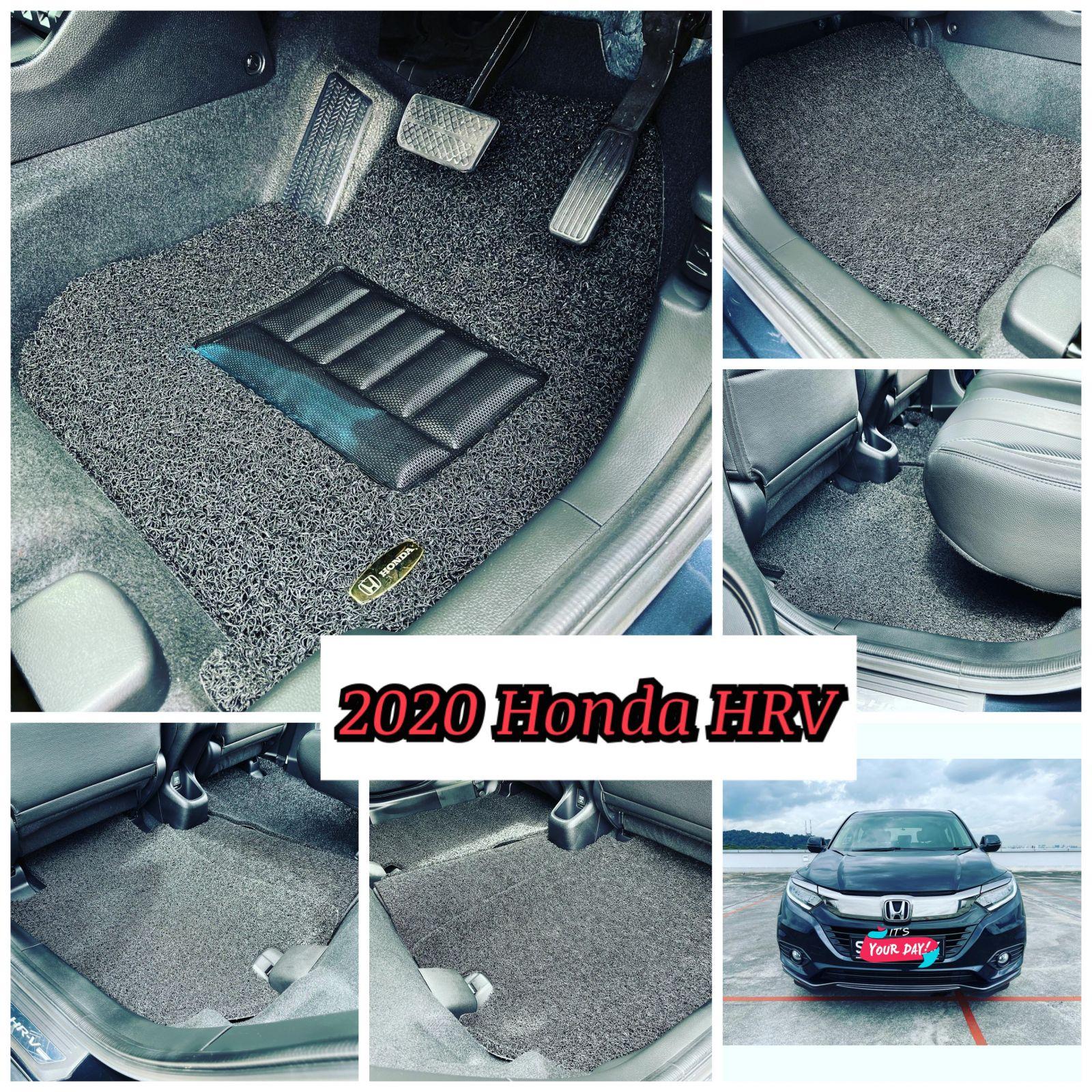 Customised 2019 Honda HR-V Black Colour Car Mat