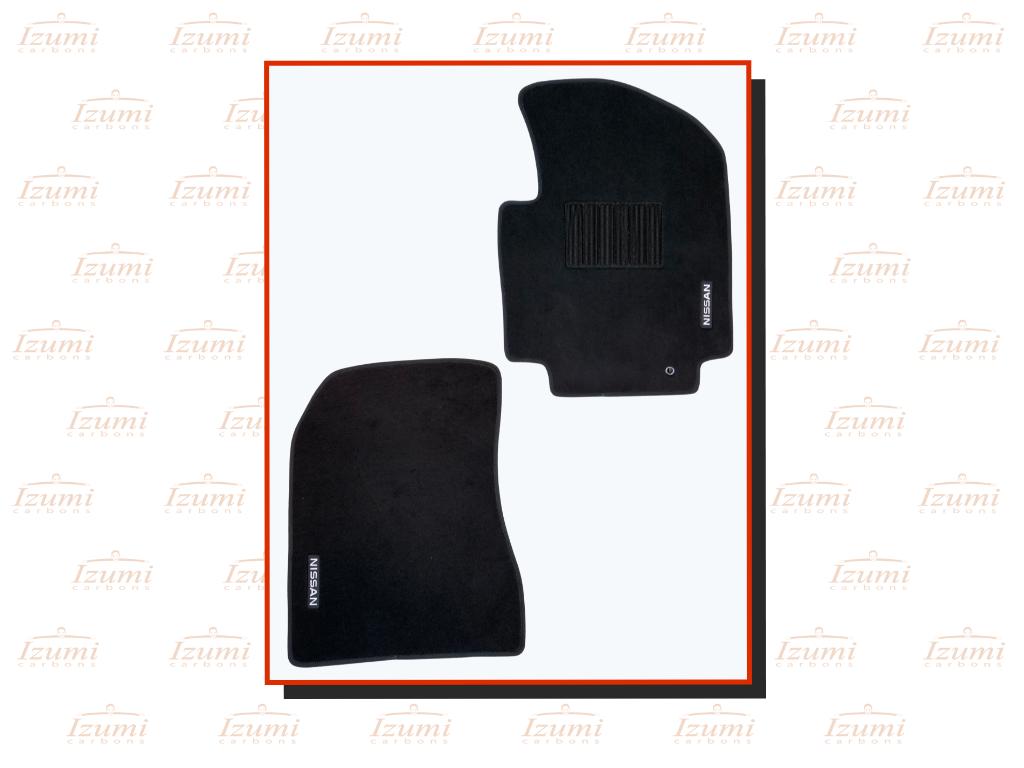 Izumi Carbons Nissan NV200 Black Car Mat Set (Nylon)