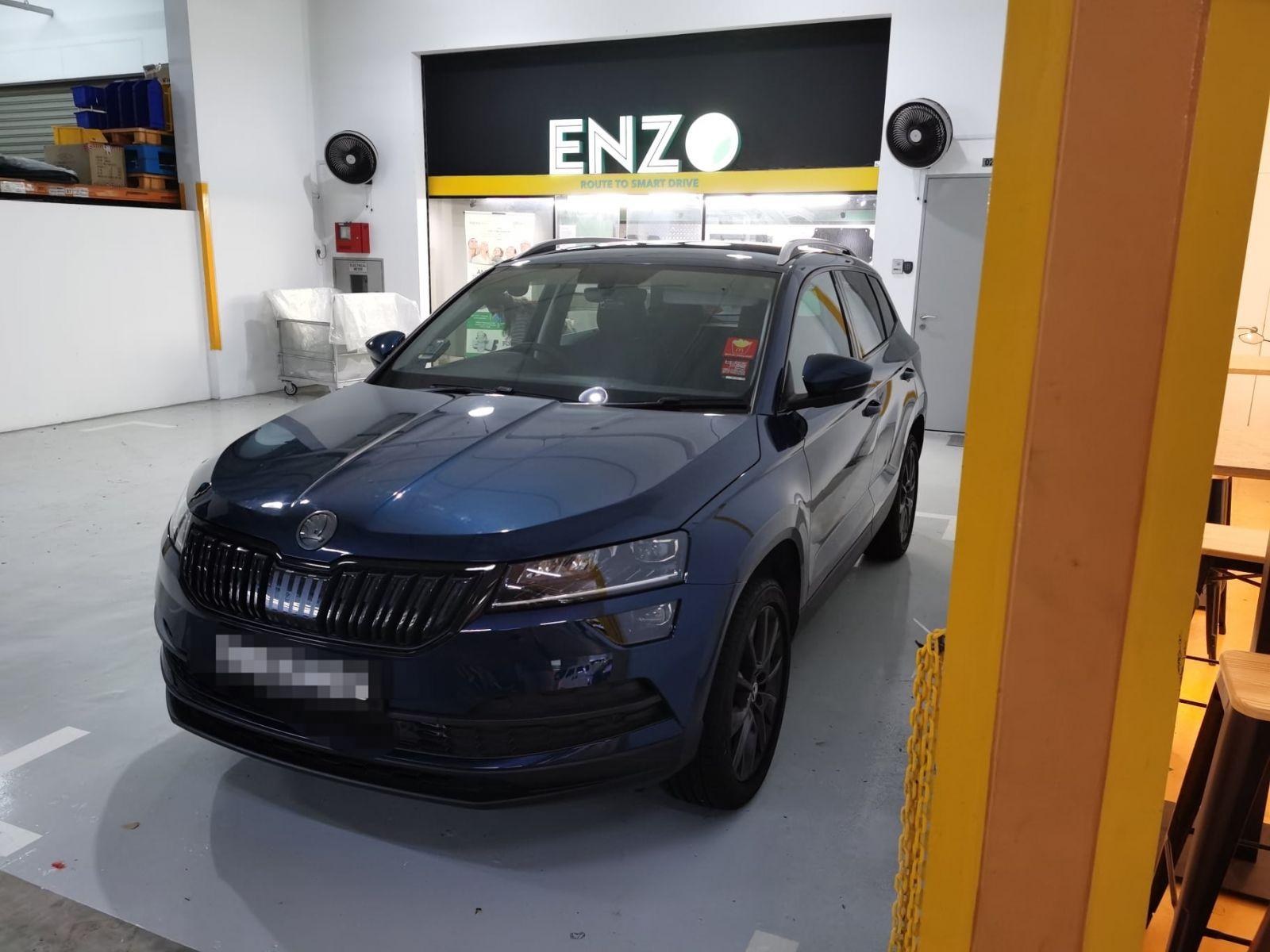 ENZO Skoda Karoq Premium Car Mat