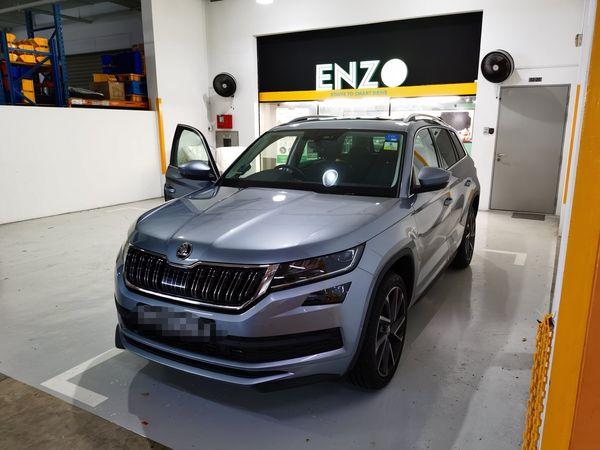 ENZO Skoda Kodiaq Premium Car Mat