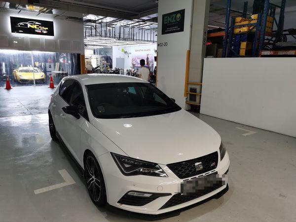 ENZO Seat Leon Premium Car Mat