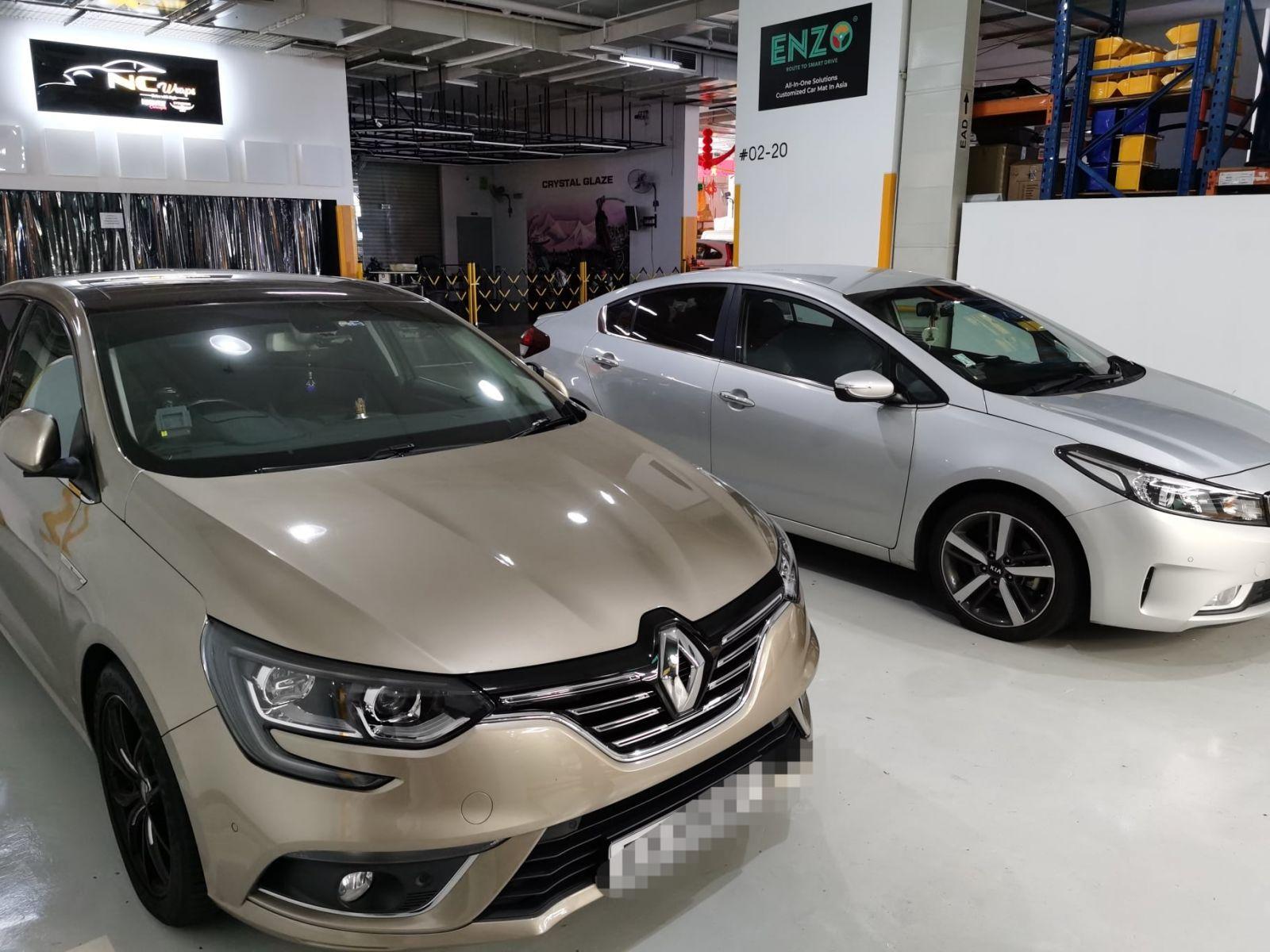 ENZO Renault Megane Premium Car Mat