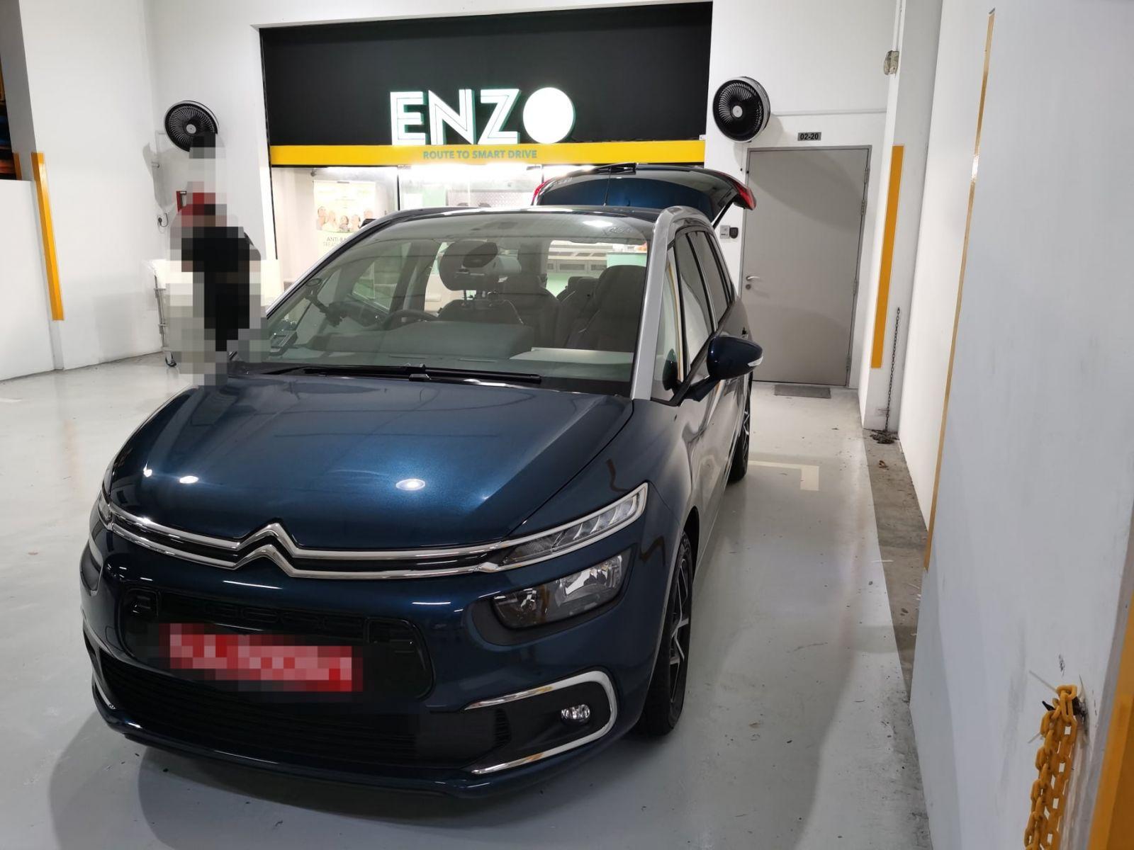 ENZO Citroen Grand C4 SpaceTourer Premium Car Mat