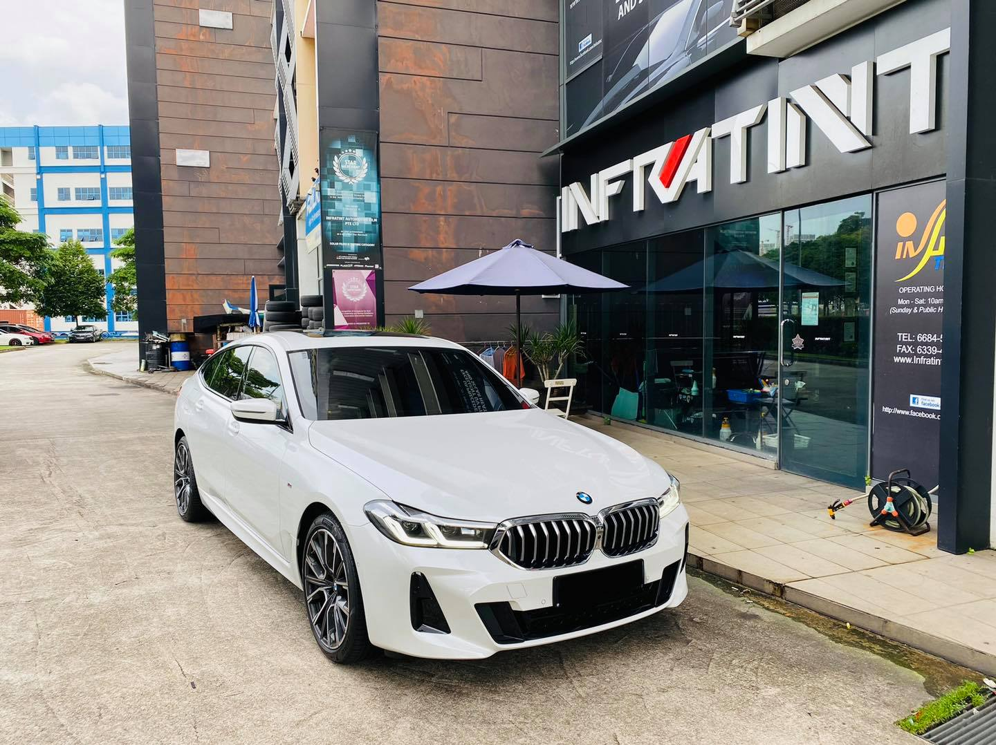 Infratint Solar Film BMW Cars Package