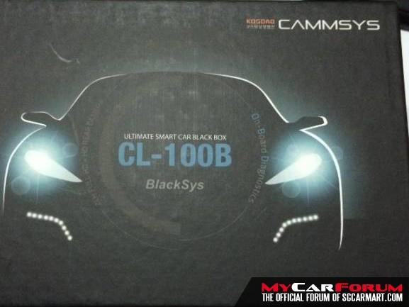 """BlackSys CL-100B 4.0"""" TAT FHD-HD 2CH BlackBox Car Camera"""