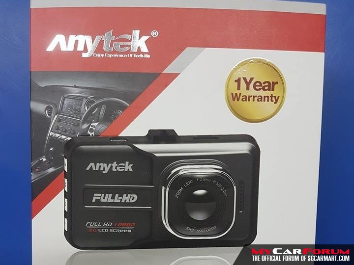 Anytek A98 Super Night Vision Wide Angle HD 1080P Car Camera