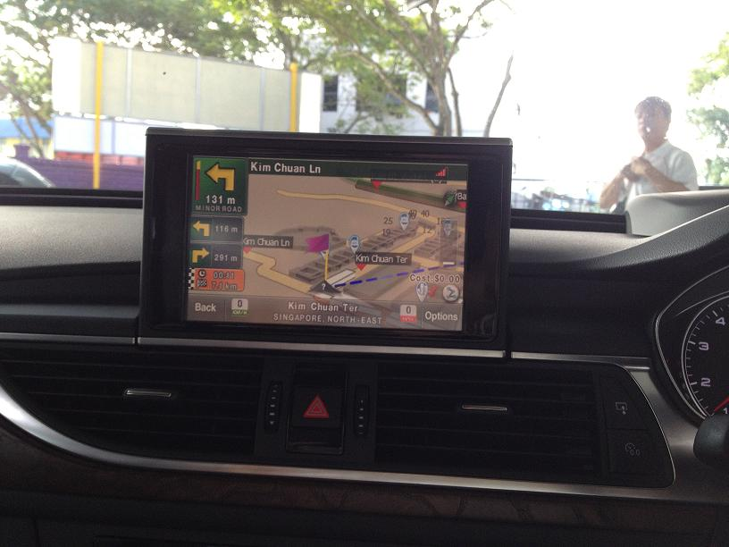 Touch Screen GPS Upgrade For Audi A6 & A7 With Reverse Camera